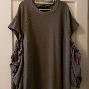 Eloquii Dresses - Eloquii Cold Shoulder Dress